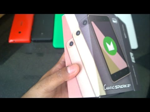 Cheapest Android Marshmallow Phone : Micromax Canvas spark 2 Plus Q350 unboxing and first impression