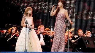 Jackie Evancho and Sumi Jo singing Con Te Partiro in Russia