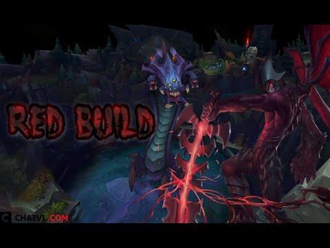 Hành trình của cách lên đồ Red Aatrox gameplay