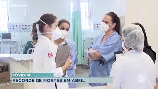 Bauru: Número de mortes por Covid em Abril é o maior desde o início da pandemia