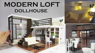 DIY Miniature - Modern Dollhouse (Kit Bash)