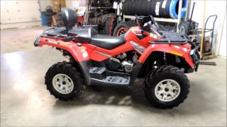 9. 2007 Outlander 500 MAX XT Red