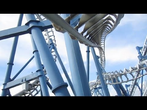 Gardaland - There are only five of these 2510 foot (765m) extended Vekoma SLC coasters with a helix & none of them are in the USA. The others are located in Spain, Austr...