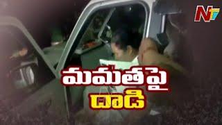 మమత బెనర్జీ పై దాడి ! Bengal CM Mamata Banerjee injured In Nandigram