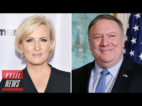 Mika Brzezinski Fires Back at Mike Pompeo Calling Him 'A Wannabe Dictator's Butt Boy' | THR News