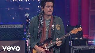 Video John Mayer - Slow Dancing In A Burning Room (Live on Letterman) MP3, 3GP, MP4, WEBM, AVI, FLV Desember 2018