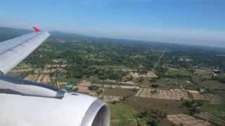 Sakon Nakhon Thailand  city photos : Thai Air Asia FD3510 Landing at Sakon Nakhon Airport