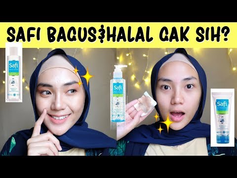 REVIEW SAFI - SKINCARE HALAL DAN AFFORDABLE! | Raniekarlina
