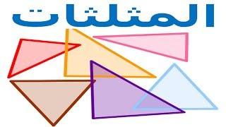 الرياضيات السادسة إبتدائي - المثلثات تمرين 6