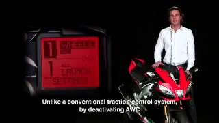 4. 2011 Aprilia RSV4 APRC AWC system Aprilia Wheelie Control explanation official video