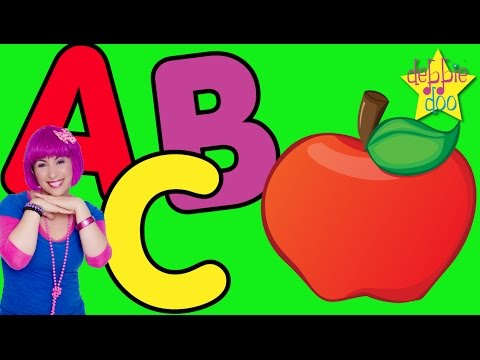 The Alphabet ABC Song   Letters A B and C   Five Finger Family   Education & Learning   Debbie Doo (видео)