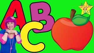 Sing along with the letter A song, the letter B song and the letter C song with Debbie Doo and the fun characters from the five...