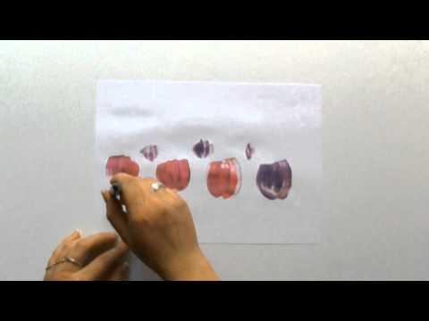 Easy way to paint tulips for beginners, ein einfach Weg Tulpen zu malen für Einsteiger