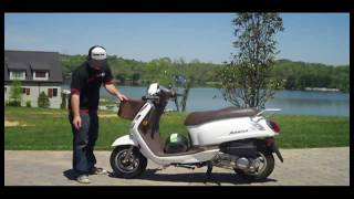 3. 2009 SYM Fiddle II Scooter Review