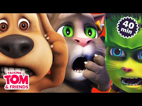 The Thrills and Chills of Talking Tom and Friends (Favorite Episodes Compilation) (видео)