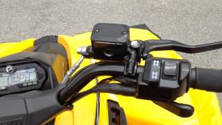3. New Can AM Renegade 500 Review