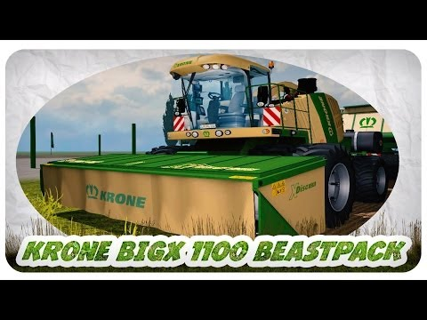 Krone BigX 1100 Beastpack v11.1 Beta by Bullgore