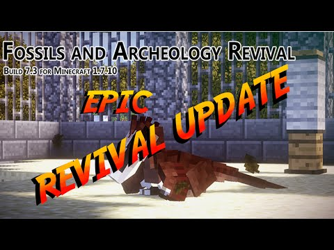 Fossils & Archeology Revival 7.3 UPDATE VIDEO!!!
