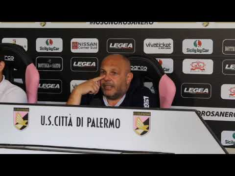Palermo, Tedino presenta la sfida col Parma VIDEO
