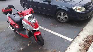 10. Atl 50cc vip scooter brand new 11-8-2017