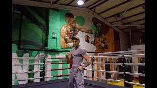 With visualisation a huge part of his career, Conor McGregor has given himself a picture perfect to train alongside. Thanks to SUBSET Dublin.