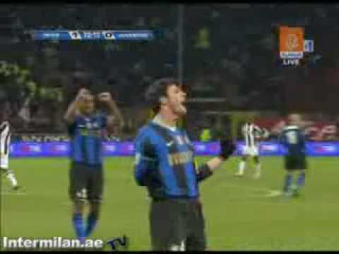 El Primer gol de Muntari con el Inter en la Serie A