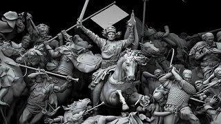 Download Lagu MuotshyMusic - Sons of War / Battle of Grunwald by Jan Matejko (3D) Mp3