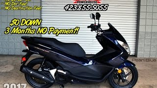6. 2017 Honda PCX150 Scooter Review of Specs - Blue PCX SALE Prices @ Honda of Chattanooga TN Dealer