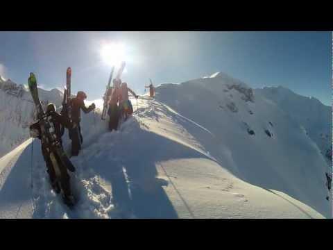 Freeride v Les Arcs - ©n-Div