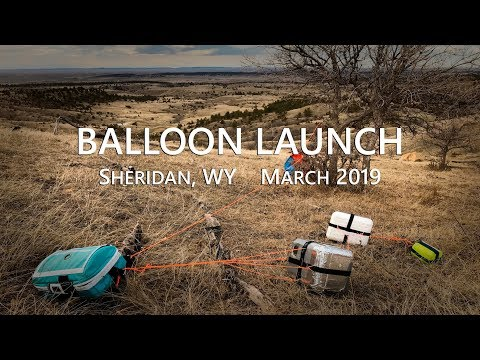 High Altitude Balloon Launch - Holy Name Catholic School (March 2019) - Sheridan, WY
