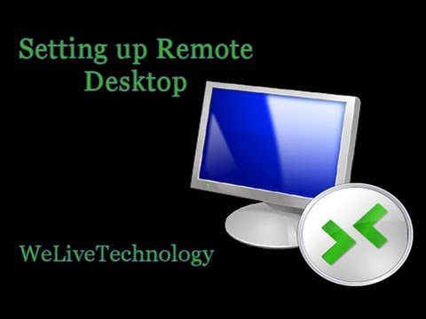 How to Set Up Remote Desktop to Work from Home