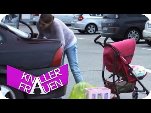 Knallerfrauen - Stress beim Einkaufen