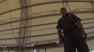 Upskirting Border Patrol Checkpoint Cam - 06:40, 14 June 2014, GP010065, 25 miles north of Ajo, Arizona, Immigration and...