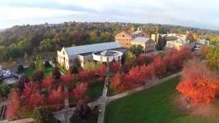 Heavenly View of Our Beautiful Hilltop Campus | Franciscan University of Steubenville