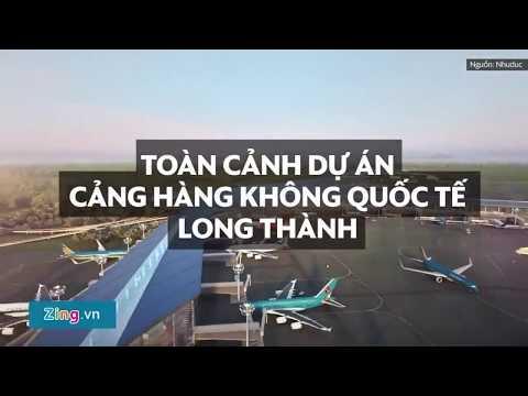 Toàn cảnh dự án cảng hàng không quốc tế Long Thành