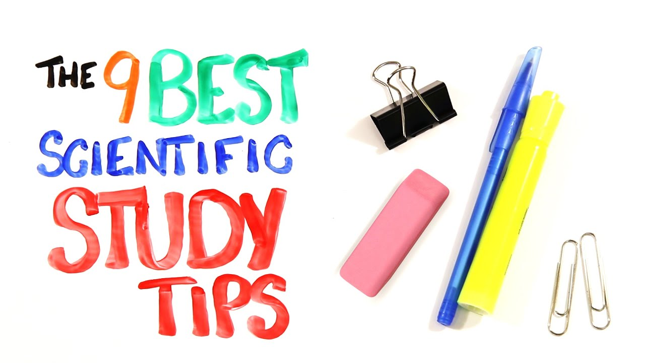 The 9 BEST Scientific Study Tips (AsapSCIENCE)