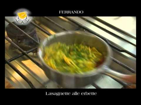 """""""Lasagnette alle erbette"""" – Genova Gourmet, video ricetta del ristorante Ferrando,"""