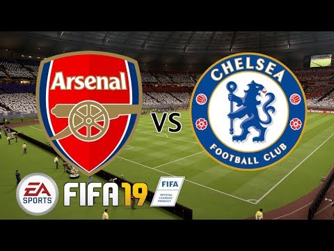 Arsenal vs Chelsea - UEFA Europa League Final 2019 - FIFA 19
