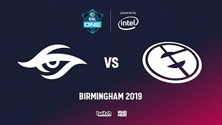 Team Secret vs Evil Geniuses, ESL One Birmingham 2019, bo5, game 3 [Mael & Jam]