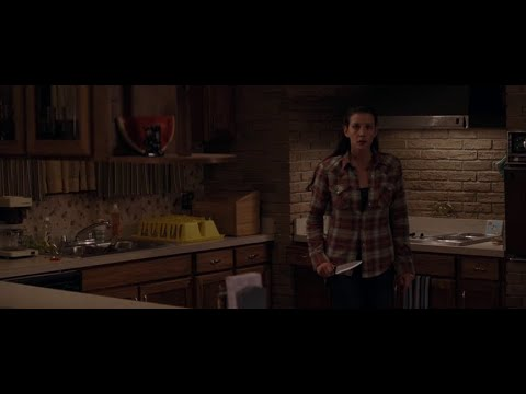 The Strangers (2008) - Kristen notices the smoke alarm she left on the floor is now on a chair