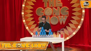 Watch this act, Speed stacking master, from The Gong Show 1x5 Celebrity Judges:Rob RiggleKen JeongRegina Hall Watch more acts on The Gong Show Thursdays at 109c on ABC! Subscribe: http://goo.gl/mo7HqT