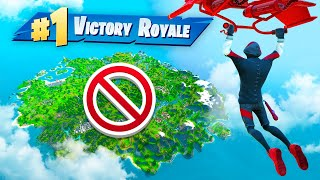 winning WITHOUT touching the ground In Fortnite!
