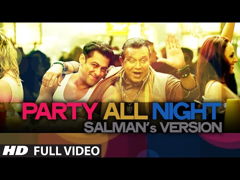 Exclusive: Party All Night Salman's Version from Kick...