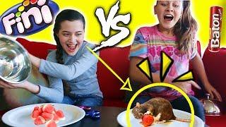 Vídeo super divertido com a super mega simpática YouTuber Júlia Silva.   BALAS FINI VS COMIDA DE VERDADE. Vamos comer...