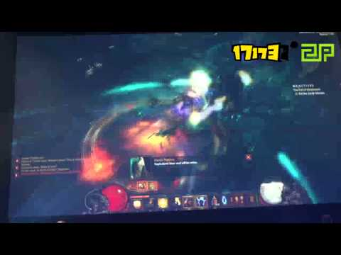 Blizzard press tour - Blizzard Gamescom 2013 Press Conference - Diablo III:Reaper of Souls.