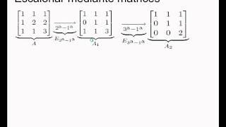Umh0966 2013-14 Lec003.1 Álgebra Lineal. Matrices Elementales