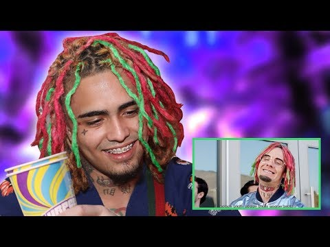 """LIL PUMP REACTS TO """"Gucci Gang"""" PARODY by Bart Baker (HE PASSES OUT)"""