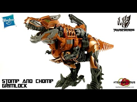 Chomp - Video Review of the Transformers Age of Extinction: Stomp and Chomp Grimlock GET YOURS AT BIGBADTOYSTORE!!! http://bit.ly/Stomp_Grimlock_BBTS Check out MY WEBSITE: http://www.optibotimusreviews....
