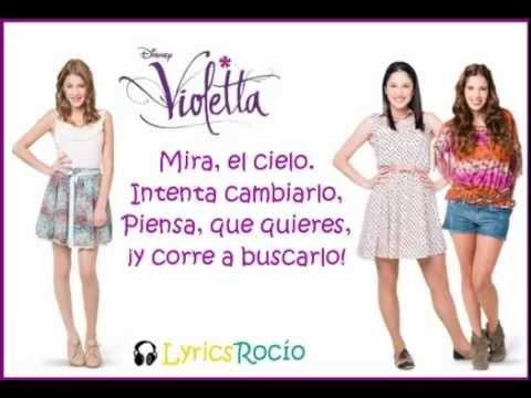 , title : 'Veo, veo - Violetta - Lyrics'