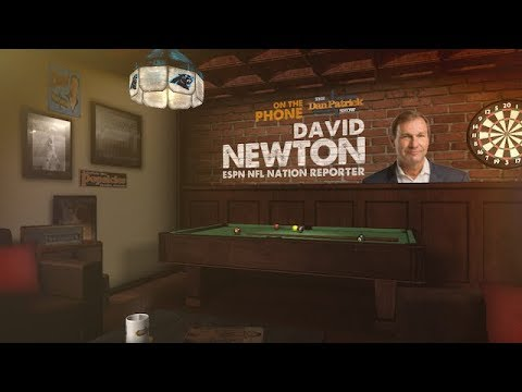 ESPN's David Newton Talks Cam Newton & Kelvin Benjamin Feud w/Dan Patrick | Full Interview | 8/10/18
